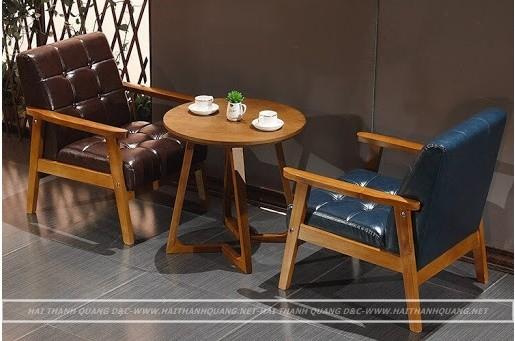 BÀN GHẾ CAFE Ở QUY NHƠN HTQ089