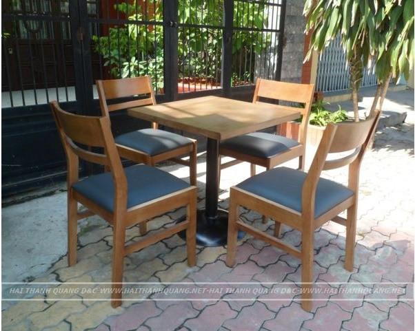 BÀN GHẾ CAFE Ở QUY NHƠN HTQ090