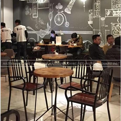 BÀN GHẾ CAFE Ở QUY NHƠN HTQ078