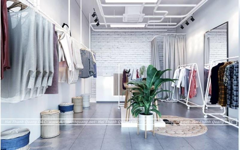 Thi Công Shop Thời Trang Trọn Gói Ở Quy Nhơn HTQ001