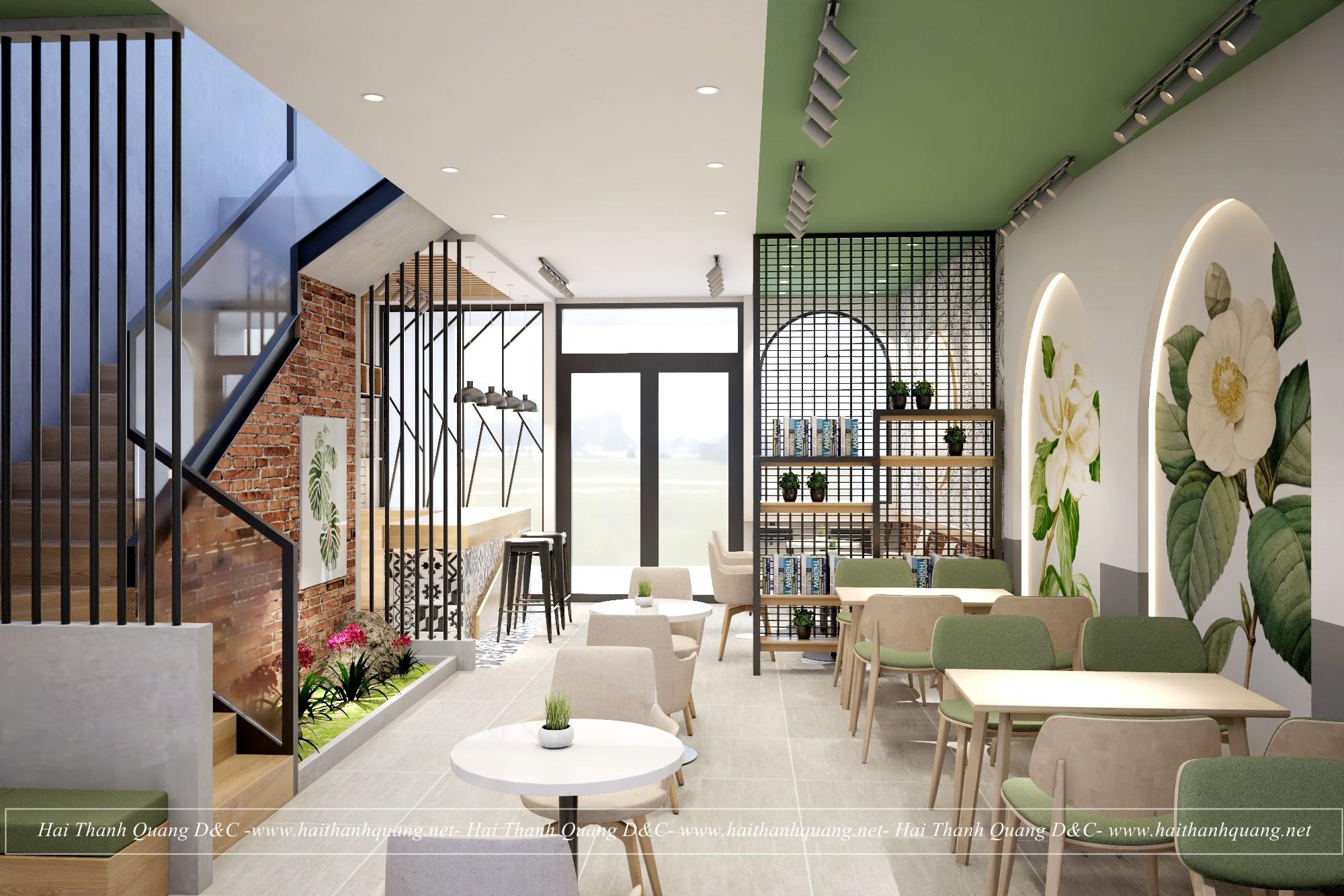 Trang Trí Quán Cafe Ở Quy Nhơn HTQ001
