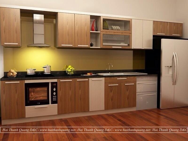 Tủ Bếp Ở Quy Nhơn HTQ036