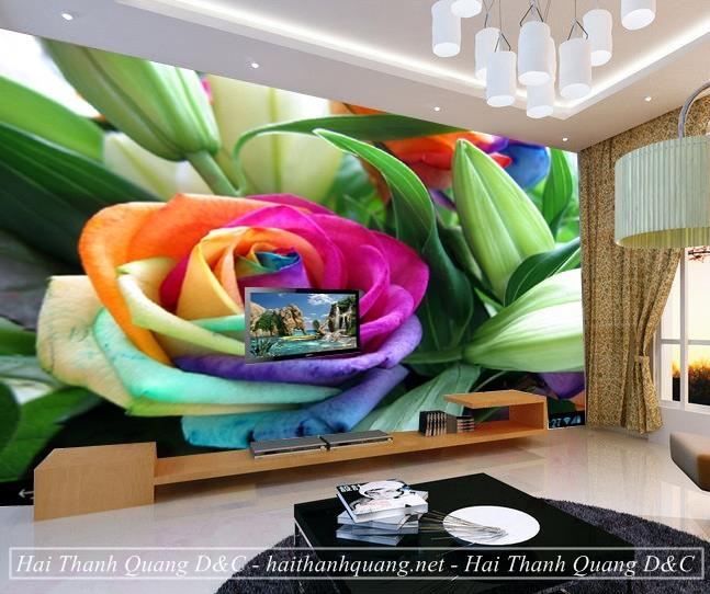 Tranh Dán Tường 3D Ở Quy Nhơn HTQ004