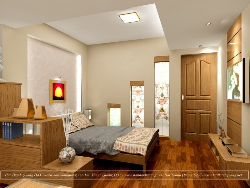 Thiết Kế Phòng Ngủ Ở Quy Nhơn HTQ008