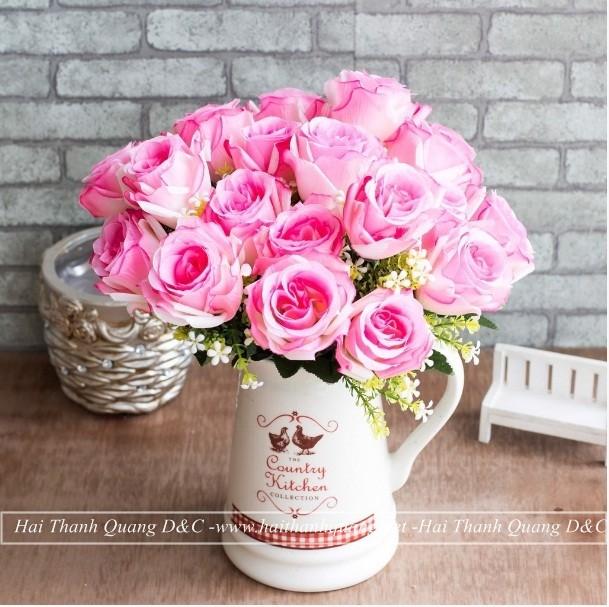 Cây Hoa Giả Ở Quy Nhơn HTQ016