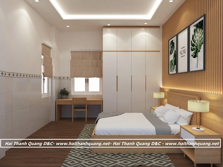 Giường Gỗ Tự Nhiên Ở Quy Nhơn HTQ001