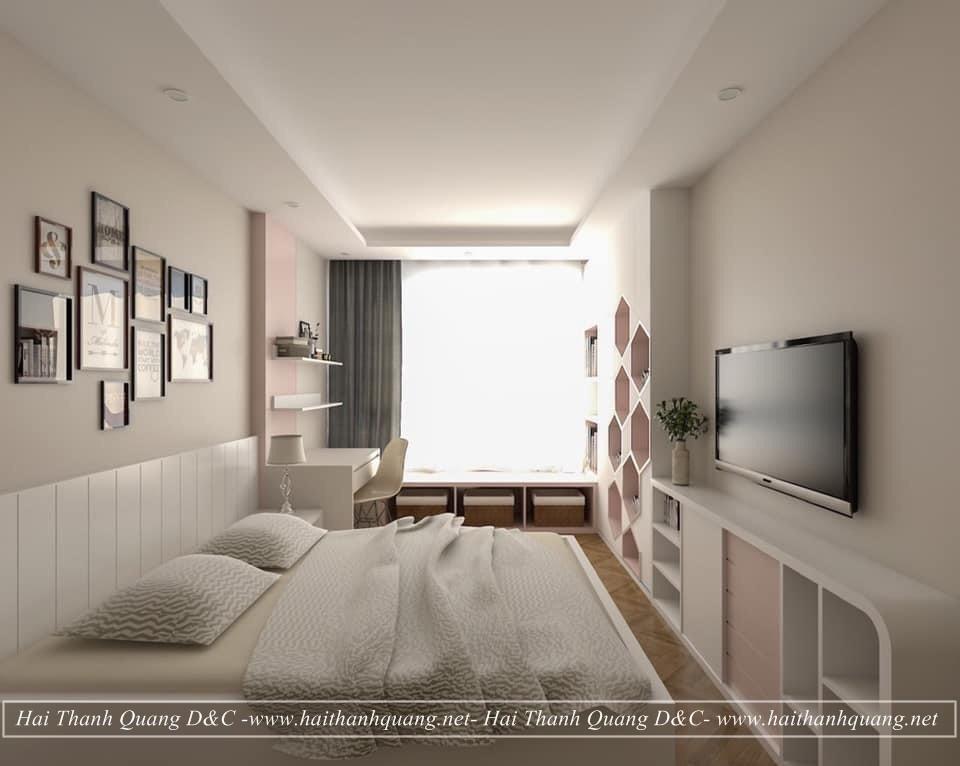 Thiết Kế Nội Thất Phòng Ngủ Ở Quy Nhơn HTQ010