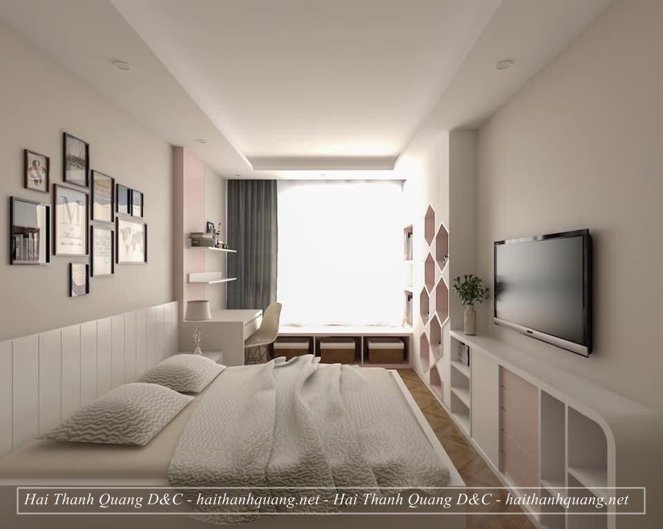 Thiết Kế Nội Thất Phòng Ngủ Ở Quy Nhơn HTQ008