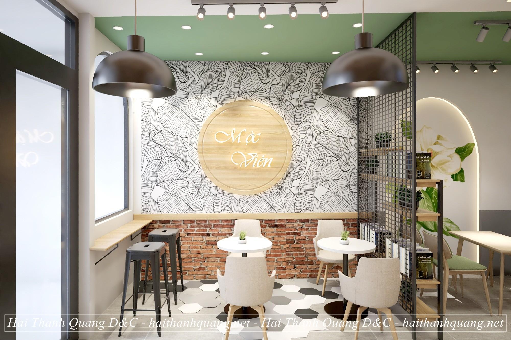 Thiết Kế Nội Thất Quán Cafe Ở Quy Nhơn HTQ014