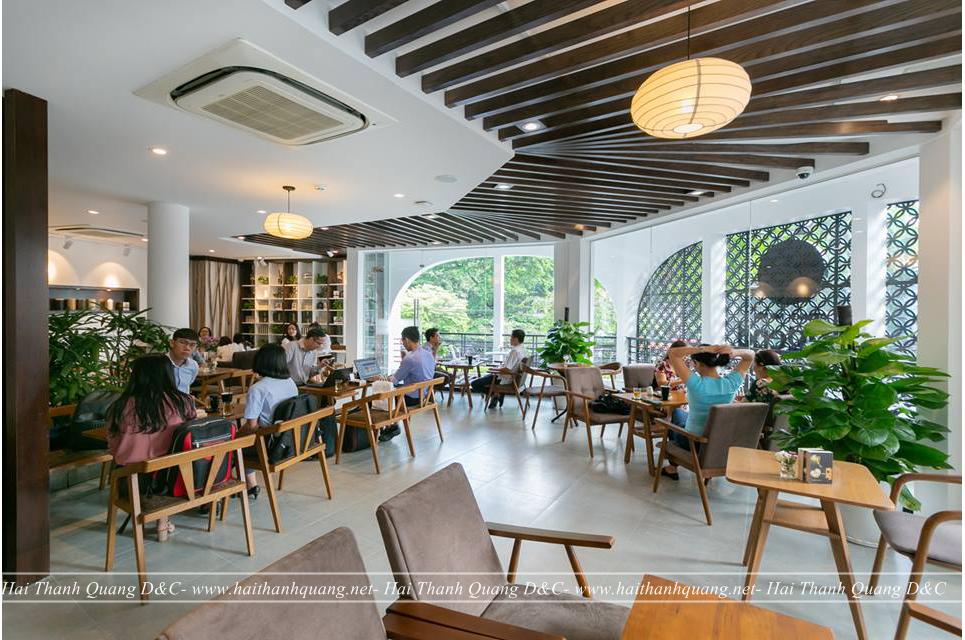 Thiết Kế Quán Cafe Ở Quy Nhơn HTQ045