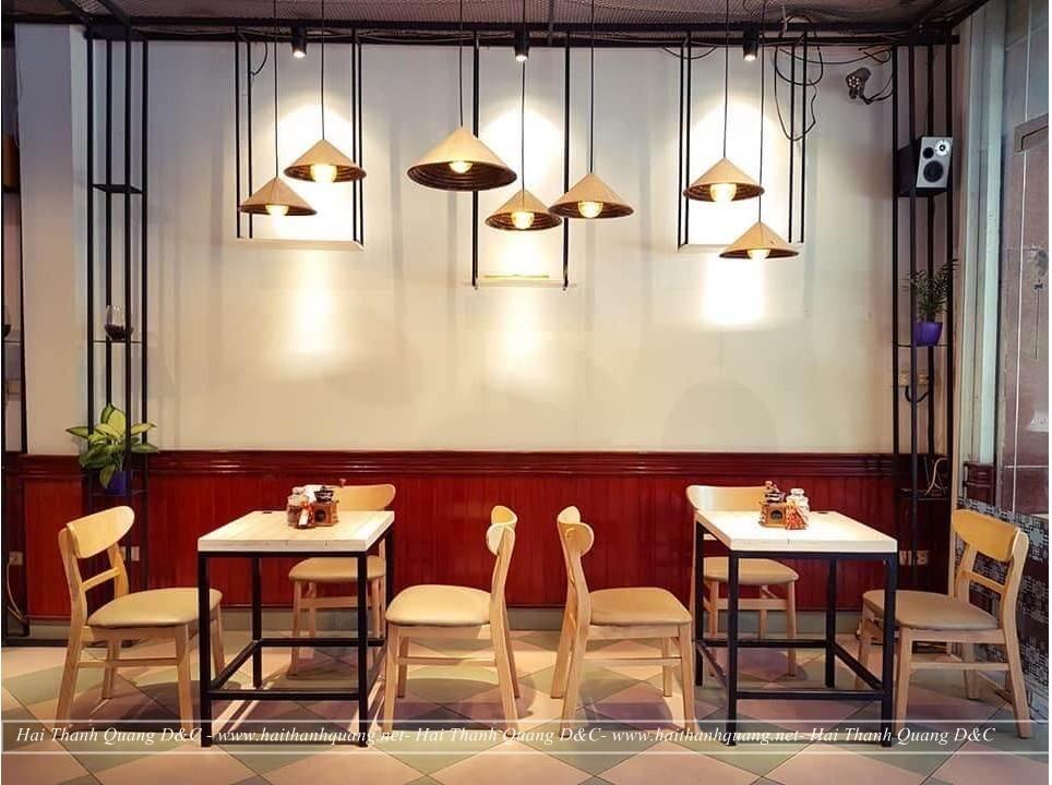 Thiết Kế Quán Cafe Ở Quy Nhơn HTQ040