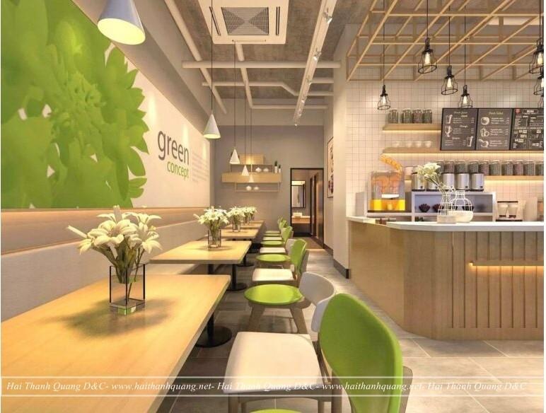 Thiết Kế Quán Cafe Ở Quy Nhơn HTQ042