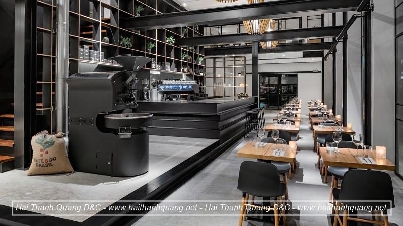 Thiết Kế Quán Cafe Ở Quy Nhơn HTQ036