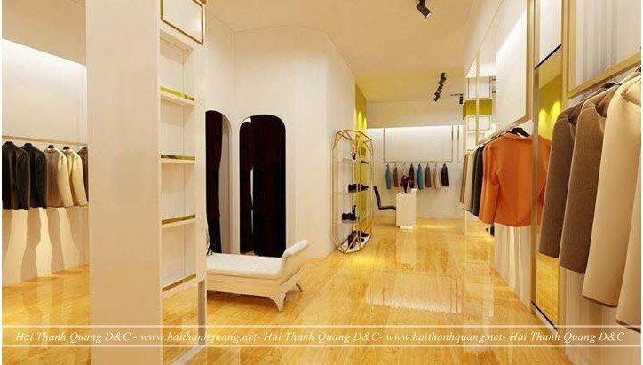 Thiết Kế Shop Quần Áo Ở Quy Nhơn HTQ019