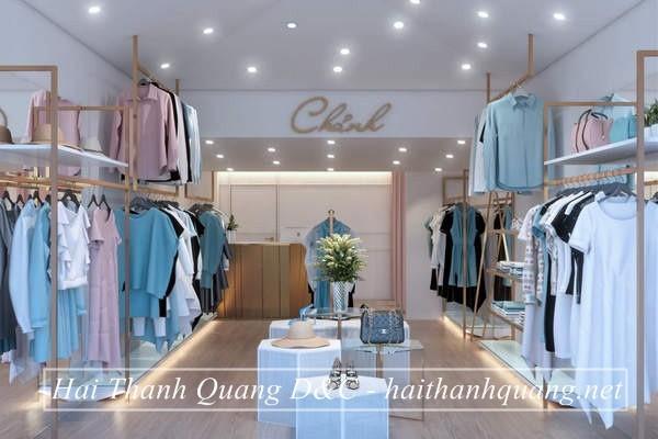Thiết Kế Shop Quần Áo Ở Quy Nhơn HTQ016