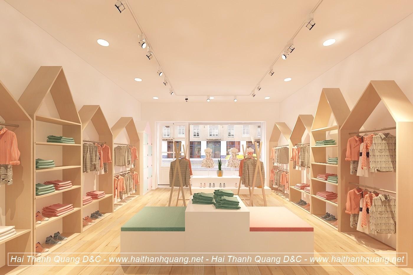 Thiết Kế Shop Quần Áo Ở Quy Nhơn HTQ018