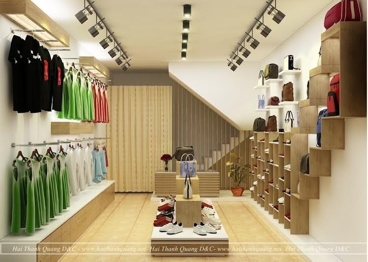 Thiết Kế Shop Thời Trang Ở Quy Nhơn HTQ013