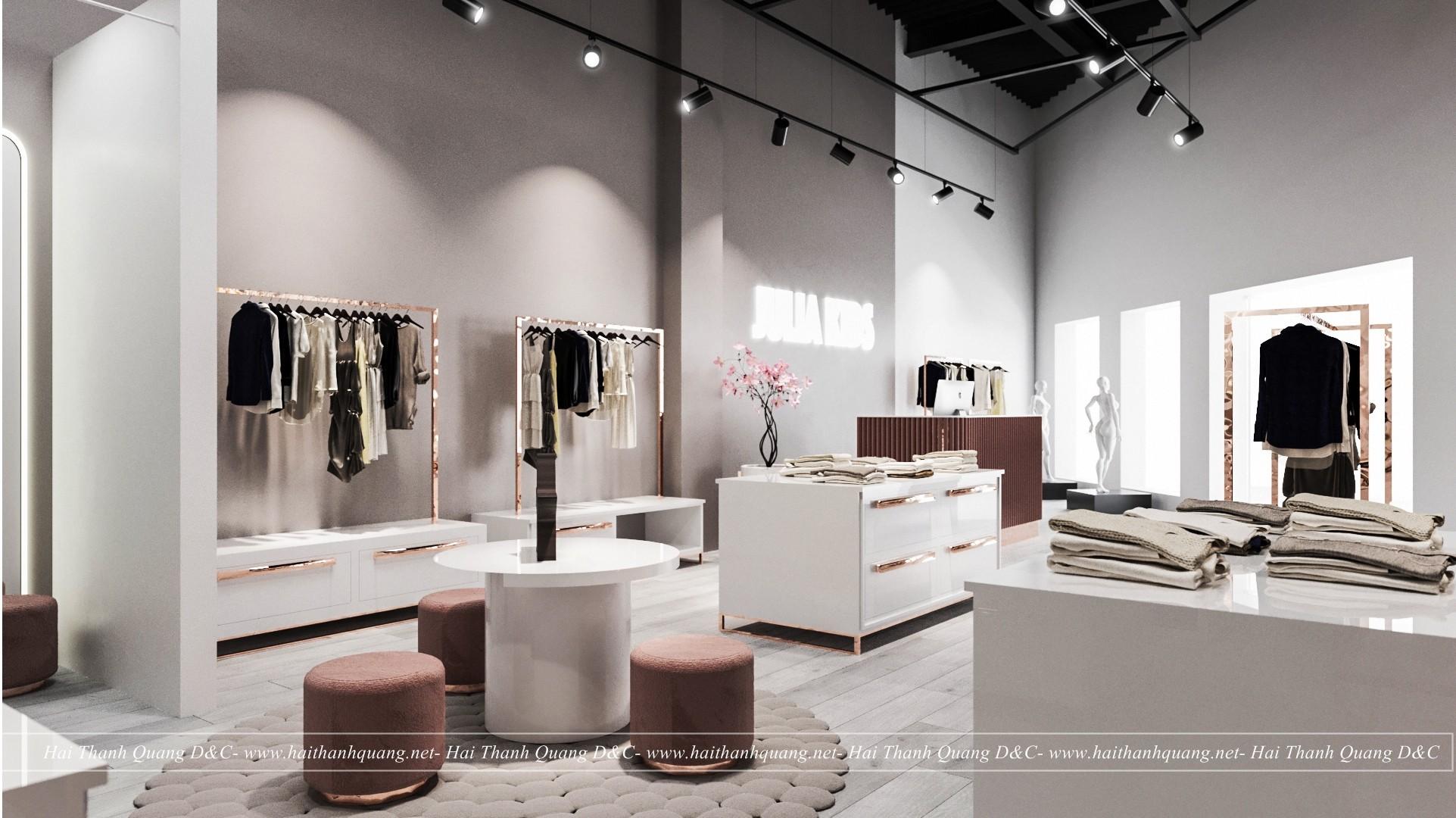 Thiết Kế Shop Thời Trang Ở Quy Nhơn HTQ017