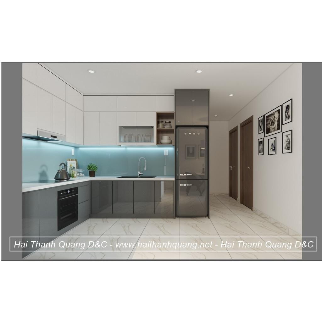 Tủ Bếp Ở Quy Nhơn HTQ030